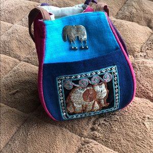Small Thailand elephant purse